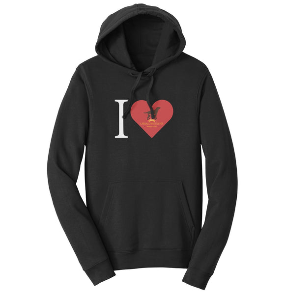 I Heart My DFW Lab Rescue - Hoodie
