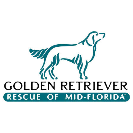 Golden Retriever Rescue of Mid-Florida Logo - Adult Unisex Hoodie Sweatshirt