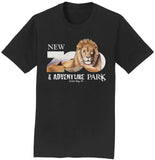 NEW Zoo & Adventure Park - Zoo Lion - Adult Unisex T-Shirt