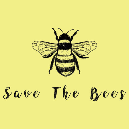 Save the Bees - Women's Fitted T-Shirt