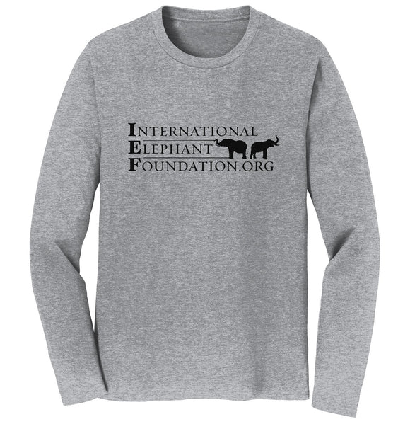 IEF Logo - Long Sleeve T-Shirt