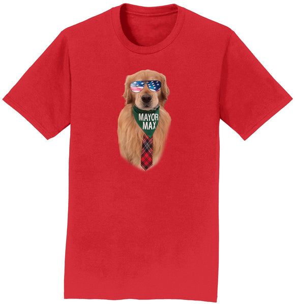 Sunglasses Mayor Max - Adult Unisex T-Shirt