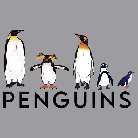 Five Penguins - Kids' Unisex Hoodie Sweatshirt