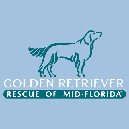 Golden Retriever Rescue of Mid-Florida Logo - Women's Fitted T-Shirt