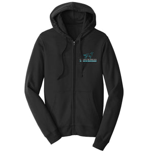 Golden Retriever Rescue of Mid-Florida Left Chest Logo - Full-Zip Hoodie