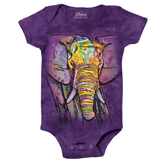 The Mountain - Russo Elephant - Baby Onesie
