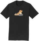 Golden Rescue South Florida Logo - T-Shirt