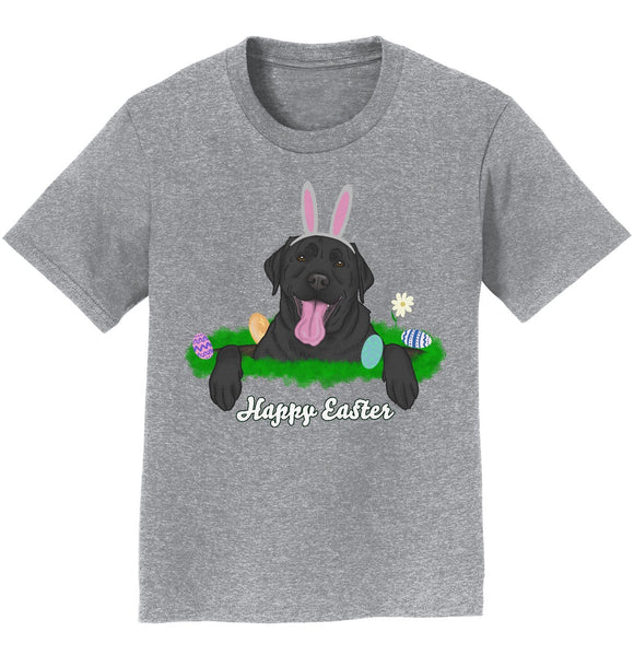 Rabbit Hole Black Labrador  - Kids' Unisex T-Shirt