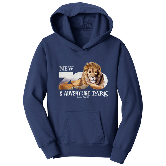 NEW Zoo & Adventure Park - Zoo Lion - Kids' Unisex Hoodie Sweatshirt