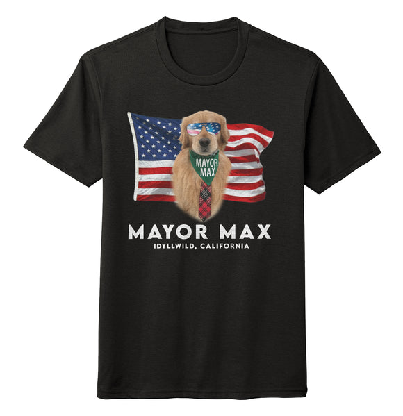 American Mayor Max - Adult Tri-Blend T-Shirt