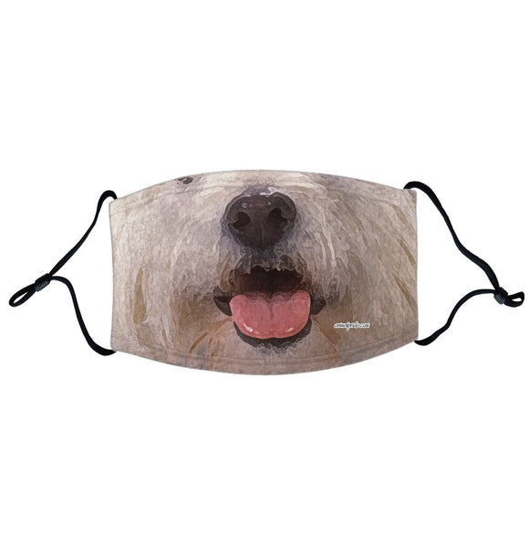 Parker Paws Store - Westie Face - Adjustable Face Mask