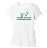 Golden Retriever Rescue of Mid-Florida Logo - Women's Tri-Blend T-Shirt