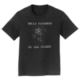 Hello Darkness My Old Friend - Black Lab - Kids' Unisex T-Shirt - WCLRR