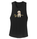 Gold Ribbon Rescue Puppy Logo - Women's Tank Top