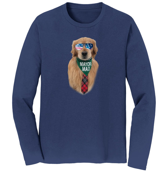 Mayor Max - Sunglasses Mayor Max - Adult Unisex Long Sleeve T-Shirt