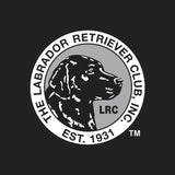 LRC Logo - Left Chest Black & White - Women's V-Neck Long Sleeve T-Shirt