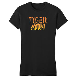 Tiger Mom - Women's Fitted T-Shirt