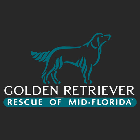 Golden Retriever Rescue of Mid-Florida Logo - Adult Tri-Blend T-Shirt