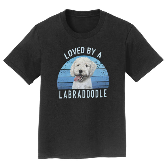 Parker Paws Store - Loved By A Labradoodle - Kids' Unisex T-Shirt