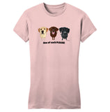 WCLRR - One of Each Labrador Please - Women's Fitted T-Shirt