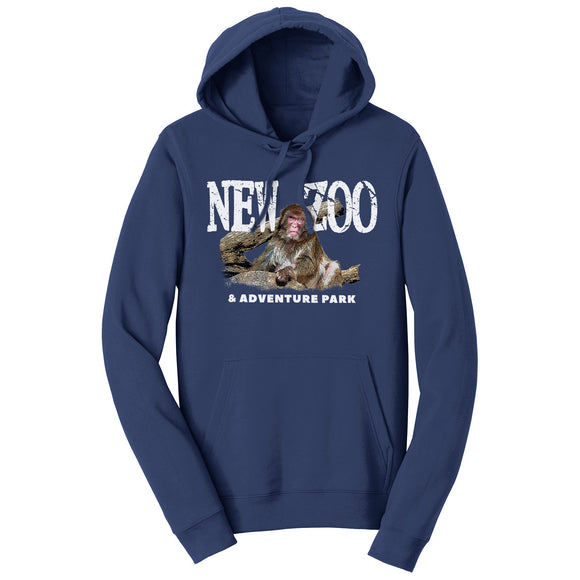NEW Zoo Japanese Macaque Monkey Art - Adult Unisex Hoodie Sweatshirt