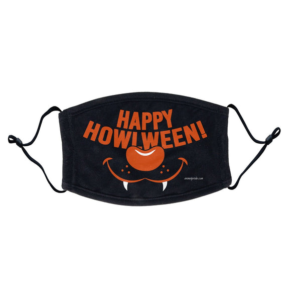 Happy Howlween - Adult Adjustable Face Mask