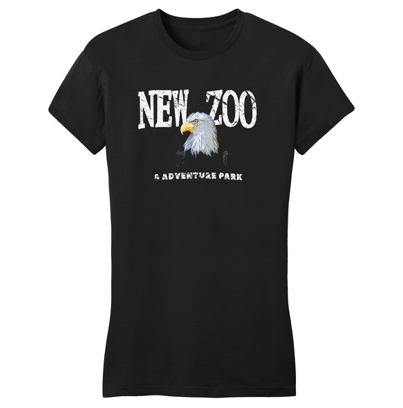 NEW Zoo Bald Eagle Art - Women's Fitted T-Shirt