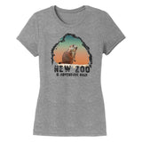 NEW Zoo Prairie Dog Sunset - Women's Tri-Blend T-Shirt
