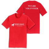 WCLRR Volunteer - Adult Unisex T-Shirt - Assorted Colors