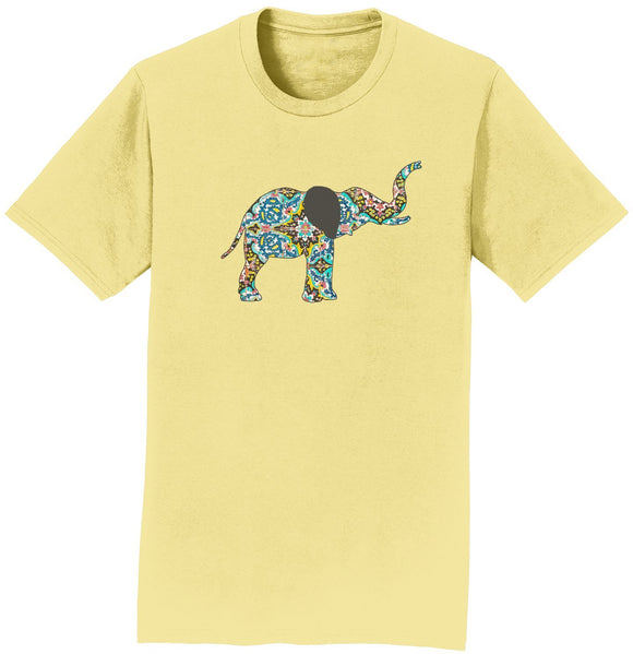 Elephant Mosaic T-Shirt | International Elephant Foundation