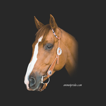 Majestic Brown Horse - Adult Adjustable Face Mask