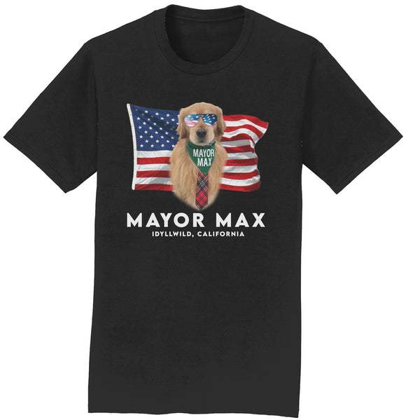 American Mayor Max - Adult Unisex T-Shirt