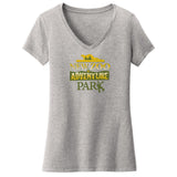 NEW Zoo and Adventure Park Logo - Women's V-Neck T-Shirt