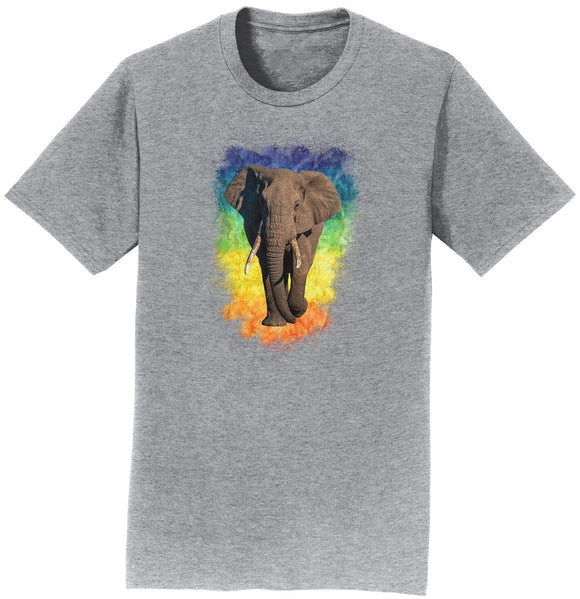 Elephant Rainbow - T-Shirt | International Elephant Foundation