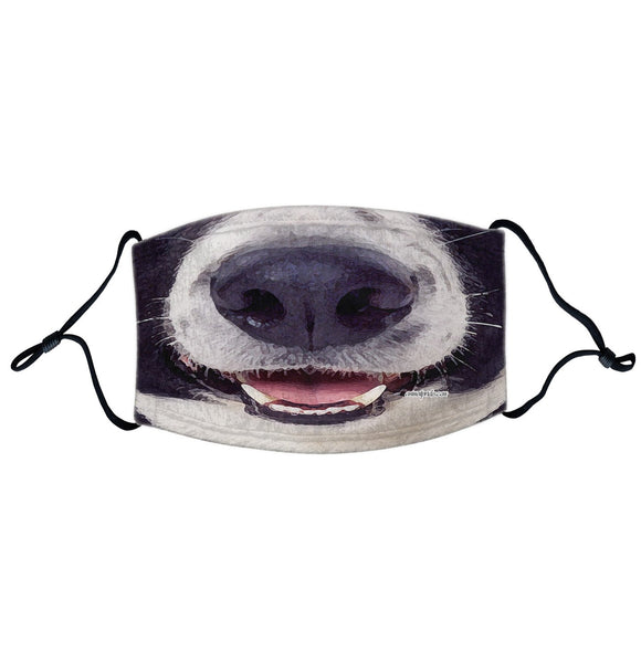 Parker Paws Store - Collie Face - Adjustable Face Mask