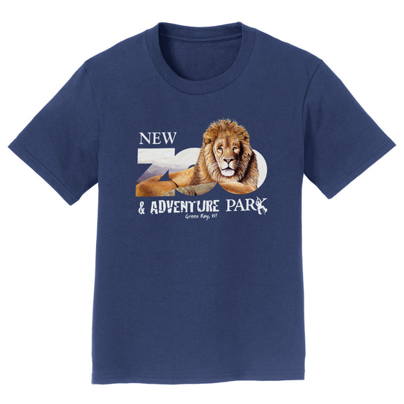 NEW Zoo & Adventure Park - Zoo Lion - Kids' Unisex T-Shirt