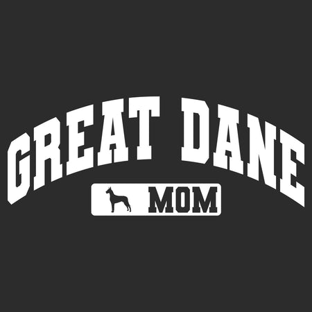 Great Dane Mom - Sport Arch - Adult Unisex Hoodie Sweatshirt