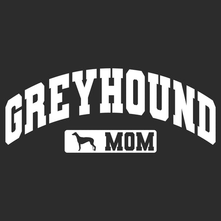 Greyhound Mom - Sport Arch - Adult Unisex Hoodie Sweatshirt