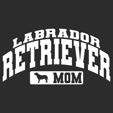Labrador Retriever Mom - Sport Arch - Adult Unisex Hoodie Sweatshirt