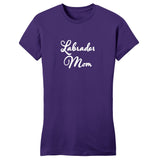 WCLRR - Labrador Mom - Script - Women's Fitted T-Shirt