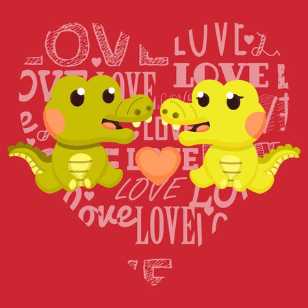 Love Heart Alligators - Kids' Unisex T-Shirt