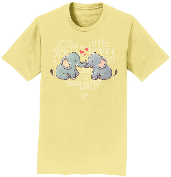 International Elephant Foundation - Love Heart Elephants - Adult Unisex T-Shirt
