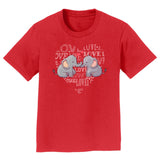 International Elephant Foundation - Love Heart Elephants - Kids' Unisex T-Shirt
