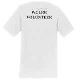 WCLRR Volunteer - Adult Unisex T-Shirt - White