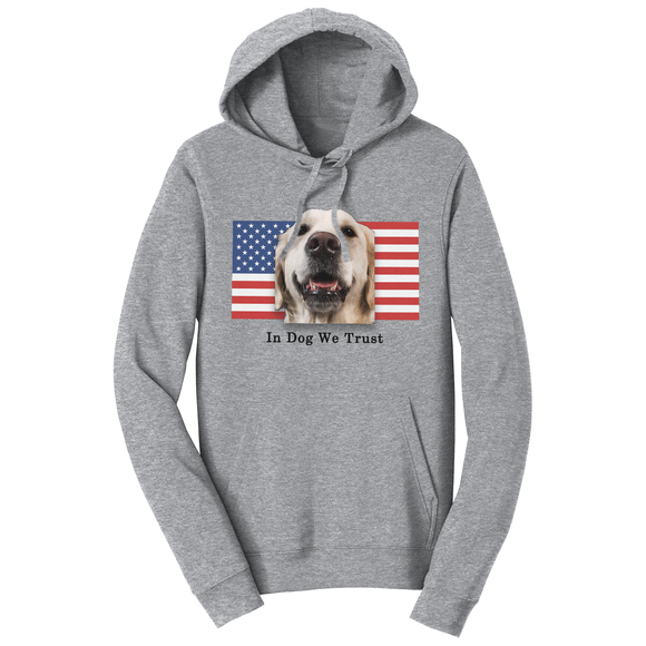 WCLRR - In Dog We Trust - Adult Unisex Hoodie Sweatshirt