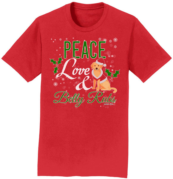 WCLRR - Peace Love and Belly Rubs - Adult Unisex T-Shirt