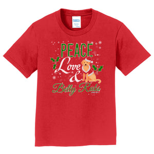 WCLRR - Peace Love and Belly Rubs - Kids' Unisex T-Shirt