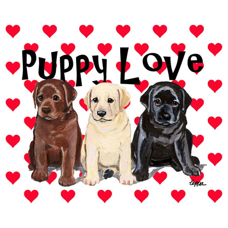 Puppy Love - Women's Fitted T-Shirt