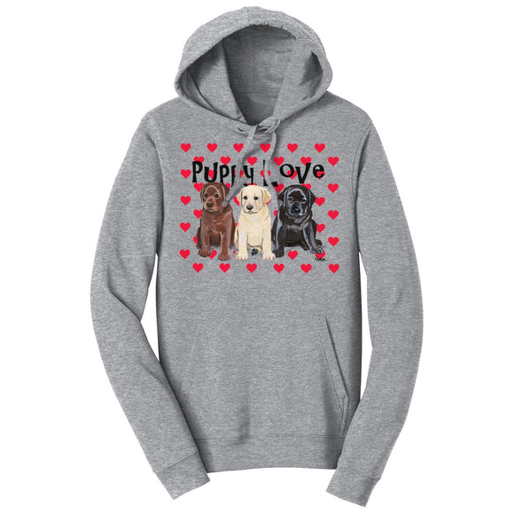 Puppy Love - Adult Unisex Hoodie Sweatshirt