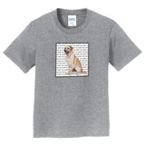Yellow Lab Love Text - Kids' Unisex T-Shirt